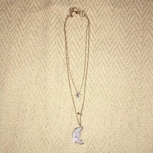 Jewelry - Druzy Stone (Faux) Layered Necklace